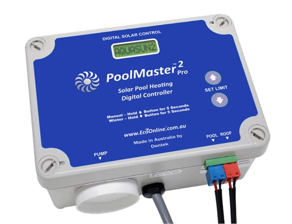 Poolmastepro Dontek AquaSun2 Solar pool heating controller