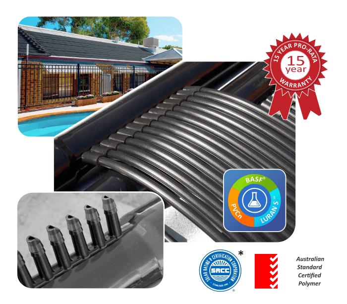 PoolMasterpro PVC Strip Heating