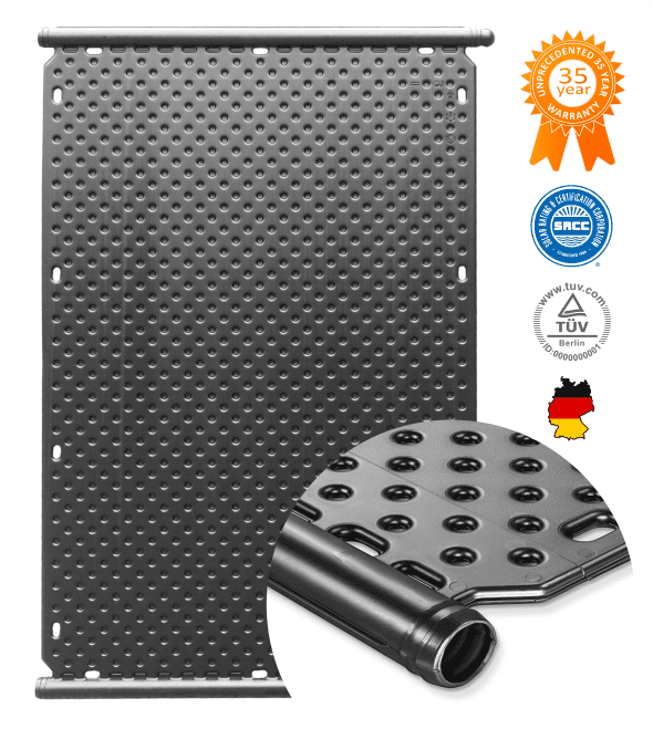 Solar Spa Heater Panels